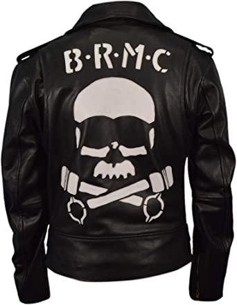 johnny strabler the wild one marlon brando brmc biker leather jacket