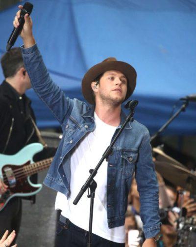 niall horan blue denim jacket