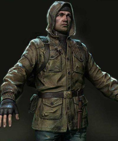 s.t.a.l.k.e.r. 2 rookie stalker leather jacket