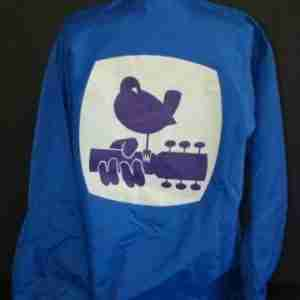 1969 woodstock blue security cotton jacket