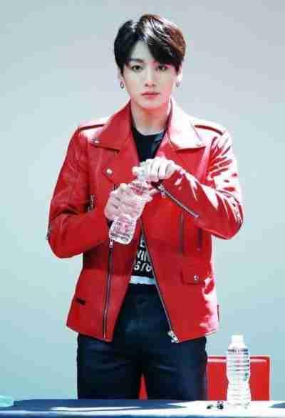 BTS Jungkook Leather Jacket
