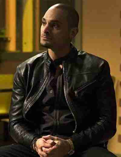 Better Call Saul Nacho Varga Black Leather Jacket