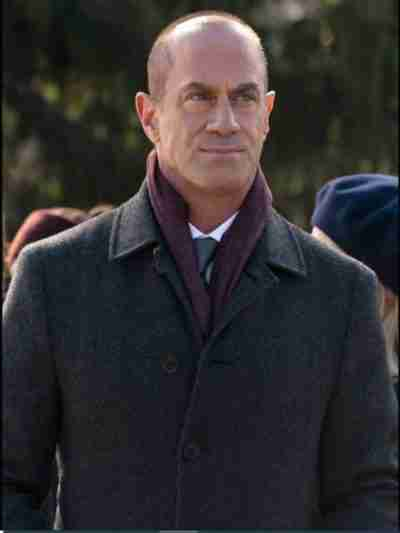 Christopher Meloni Law & Order Organized Coat