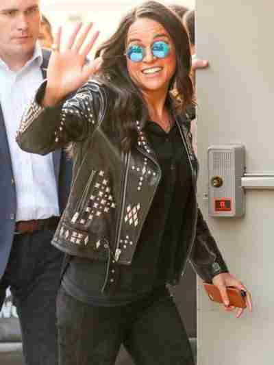 Fast & Furious 9 Letty Ortiz Leather Studded Jacket