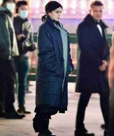 Hawkeye Hailee Steinfeld Puffer Coat