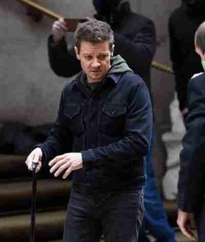 Hawkeye Jeremy Renner Black Jacket