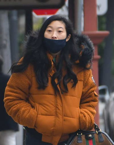 Katy Shang-Chi And The Legend Of The Ten Rings Awkwafina Fur Jacket