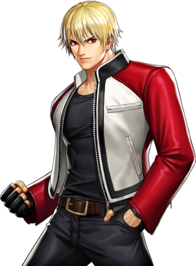 King of Fighters XIV Rock Howard Leather Jacket