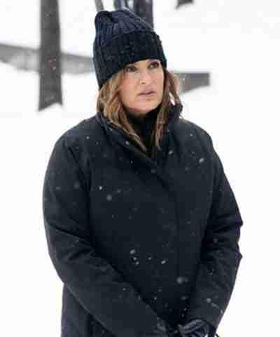 Law & Order Organized Crime Olivia Benson Black Coat