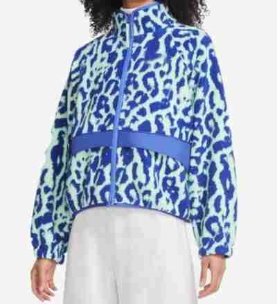Legacies Lizzie Saltzman Leopard Sherpa Jacket