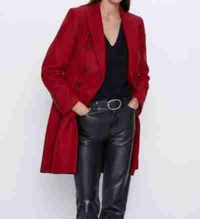 Legacies S03 Lizzie Saltzman Double-Breasted Coat