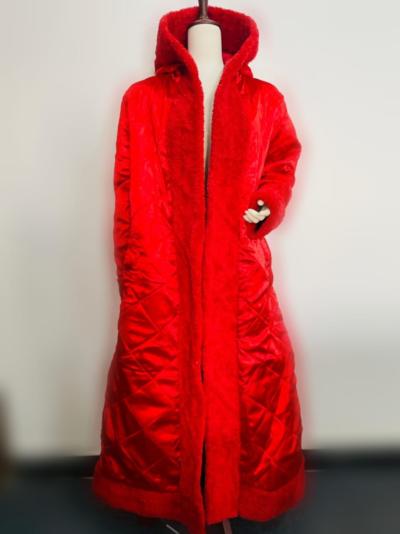 Mariah Carey Fur Trench Coat