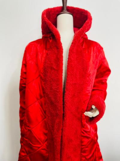 Mariah Carey Red Trench Coat