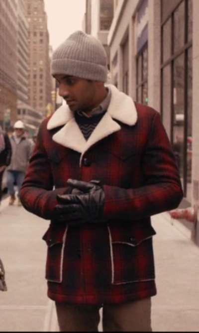 Master of None Dev Plaid Red Jacket