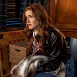 Nancy Drew Kenne Leather Jacket