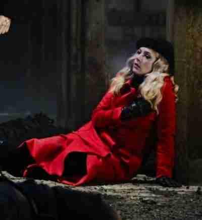 Polar Vivian Red Coat