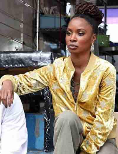 Shanola Hampton Shameless Yellow Star Jacket