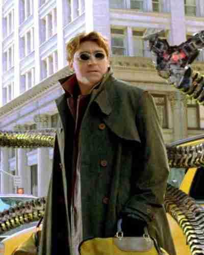 Spider-Man No Way Home Doctor Octopus Trench Coat
