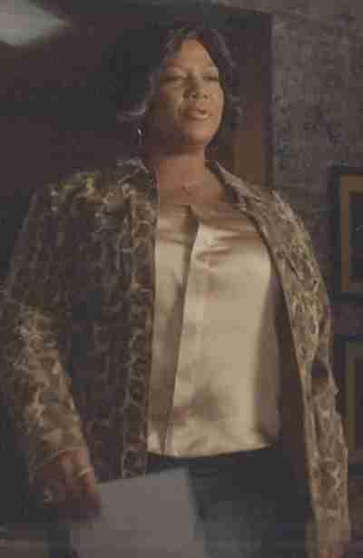 Star S02 Queen Latifah Leopard Print Jacket