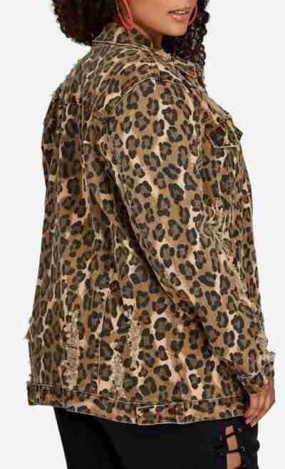 Star S02 Queen Latifah Print Jacket