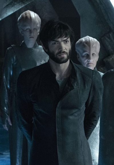 Star Trek Discovery Ethan Peck Trench Coat