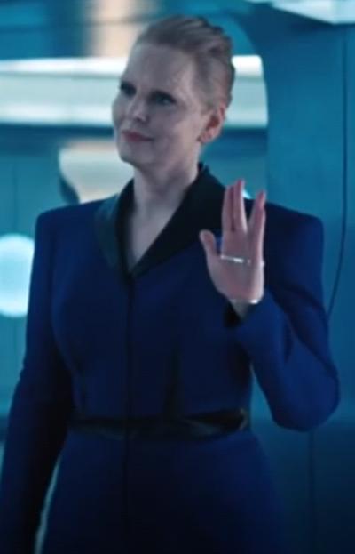 Star Trek Season 4 Blue Coat