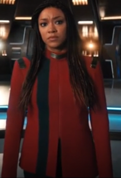 Star Trek Season 4 Sonequa Martin Red Coat