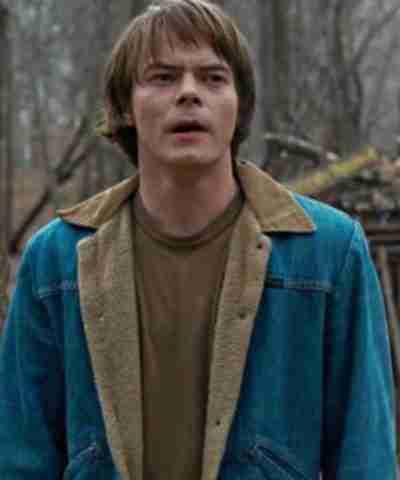 Stranger Things Jonathan Byers Blue Jacket