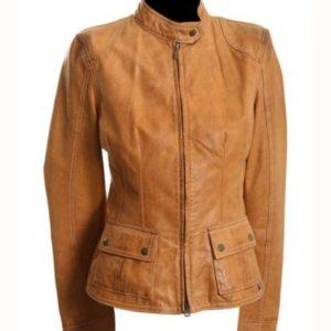 The Avengers Natasha Romanoff Brown Jacket