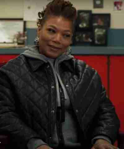 The Equalizer Queen Latifah Black Quilted Jacket