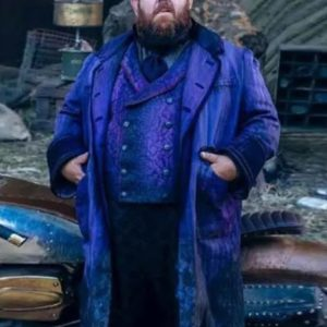 The Nevers 2021 Nick Frost Trench Coat