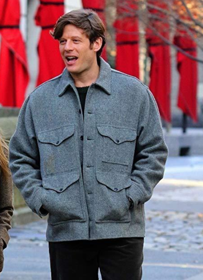 george clare things heard & seen james norton grey jacket