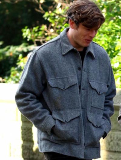 george clare things heard & seen james norton wool jacket