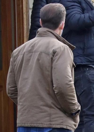 john cena peacemaker brown cotton jacket