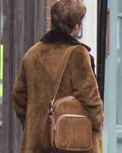 rocketman taron egerton coat