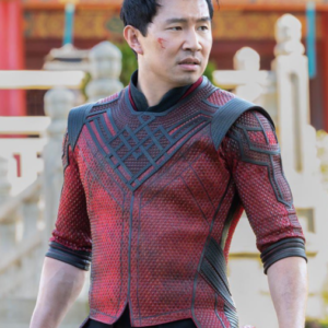 shang-chi and the legend of the ten rings simu liu leather jacket