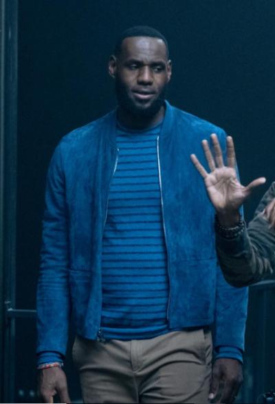 space jam a new legacy lebron james bomber jacket