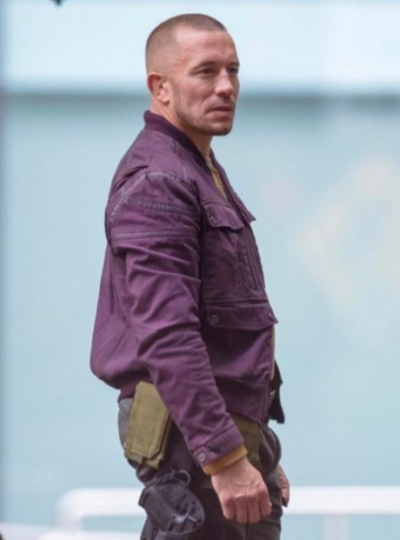 the falcon and the winter soldier georges st-pierre purple jacket