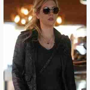 Big Sky Jenny Hoyt Black Leather Jacket