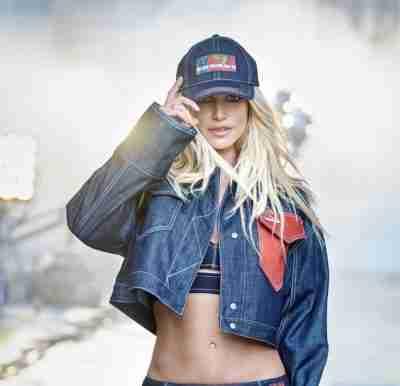 Britney Spears Blue Denim Jacket