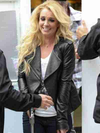 Britney Spears Quilted Jacket