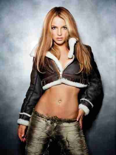 Britney Spears Shearling Leather Jacket