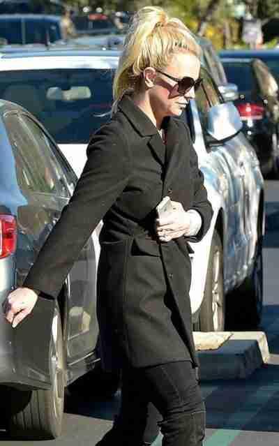 Britney Spears Wool Coat