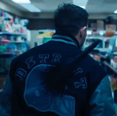 Eddie Brock Venom Let There Be Carnage Tom Hardy Detroit Varsity Jacket