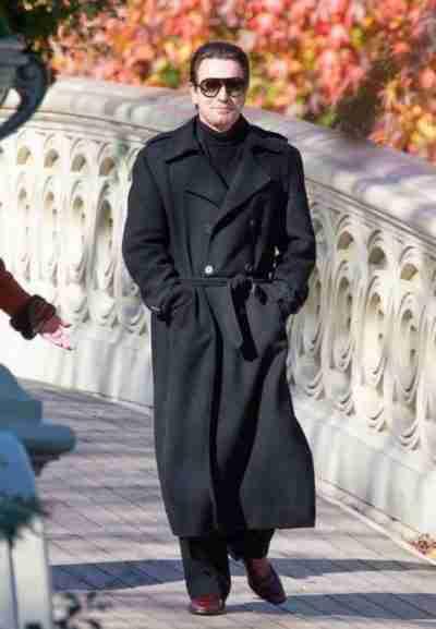 Ewan McGregor Halston Double-Breasted Coat