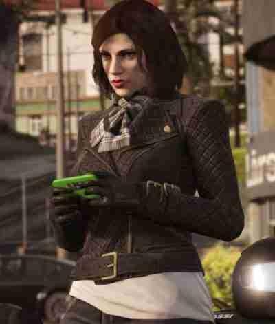 GTA 6 Female Protagonist Leather Jacket