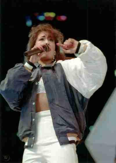 Selena Quintanilla Blue & White Jacket