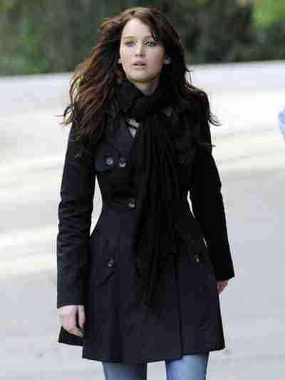 Silver Linings Playbook Tiffany Black Coat