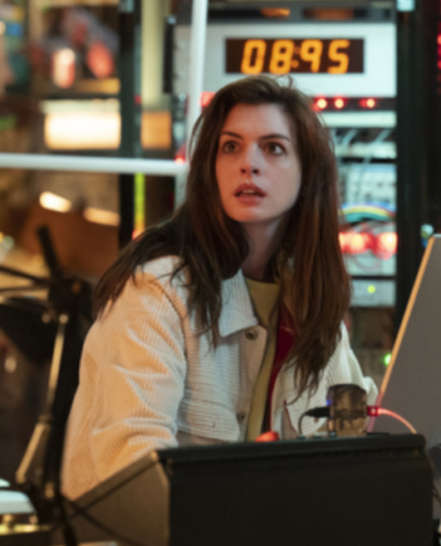 Solos Anne Hathaway White Jacket