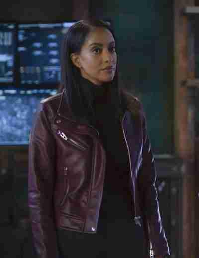 Supergirl S06 Kelly Olsen Leather Jacket
